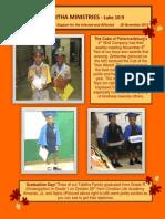 Newsletter Nov 2013 Final Draft in Color as PDF