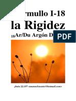 Murmullo I 18 La Rigidez