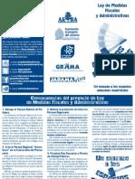 Tríptico Ley Acompañamiento 2013-1