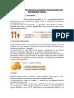 DESCRIPCIÓN DE EXPLOSIVOS Y ACCESORIOS DE VOLADURA PARA PROSPECCIÓN SISMICA