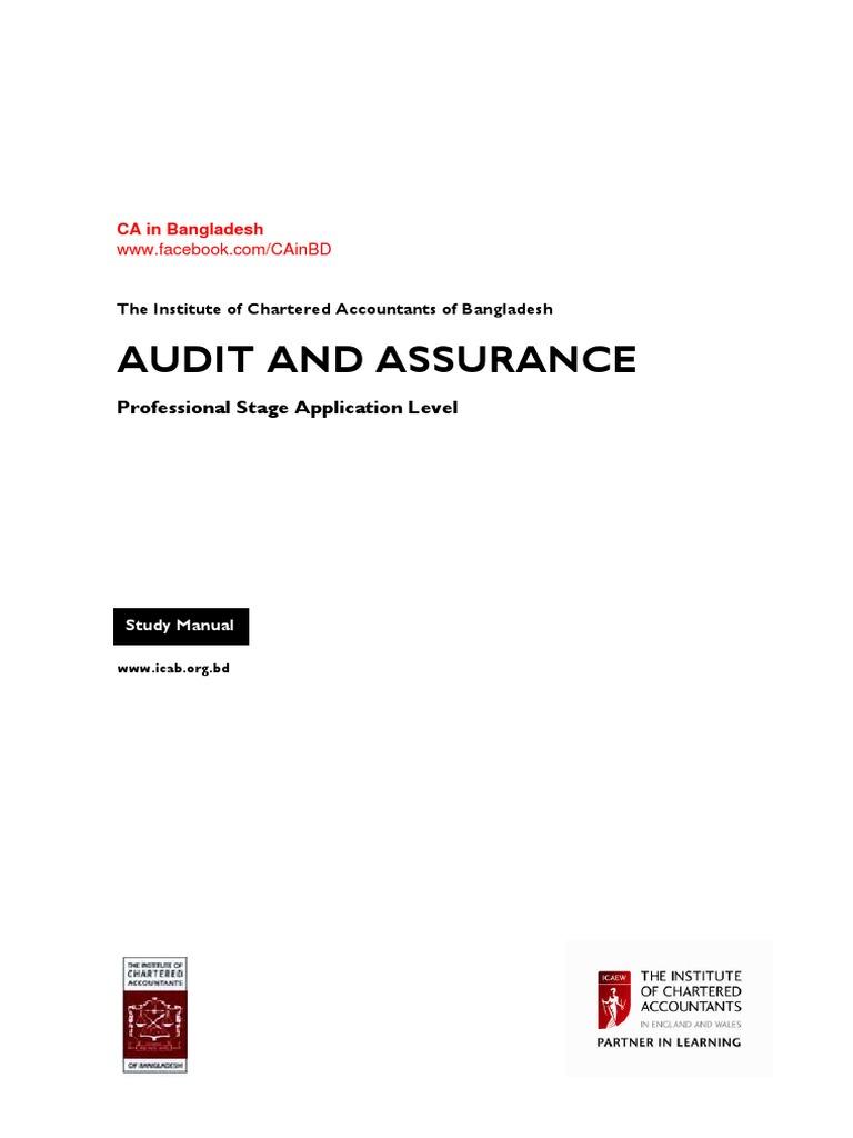 psa audit assurance audit financial audit