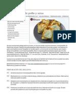 Empanadillas de Pollo Y Setas
