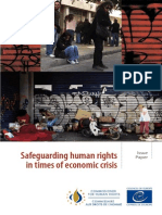 CoE Safeguarding Human Rights