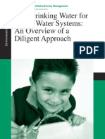 Drinking Water Due Diligence Overview