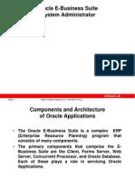 ORA E-Business Suite – System Administrator