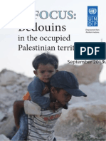 BEDOUINS in the Occupied Palestinian Territory