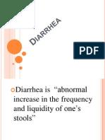 Diarrhea Report