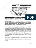 The Power of Positive Thinking - Happiness
