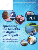 Spreading the benefits of digital participation - Interim Report