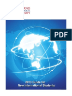 2013_Guide for New International Students