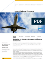 Industry Executive Overview Aerospace and Defense the Agile Aerospace and Defense Enterprise