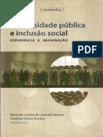 A questão da inclusão social na Universidade Brasileira