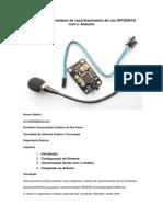 Como utilizar o módulo de reconhecimento de voz SPCE061A com o Arduíno