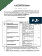 Edital de Abertura - CP 08-2013 Educacao