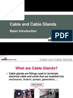 Cable and Cable Glands
