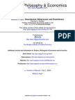 Politics Philosophy Economics 2004 Mueller 59 76