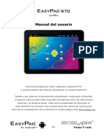 Manual EP970 Android4 ES