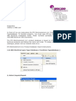 ETI d.d. Product Database Import Instructions