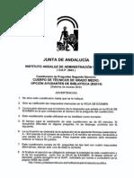 04. Examen 01. 2003. Junta Andalucía