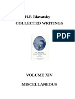 H.P. Blavatsky  Collected Writings - VOLUME XIV