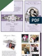 Funeral Program Design