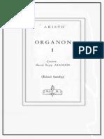 Organon 1-5 Aristoteles