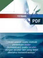 TITRASI ASAM BASA