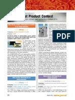 Best Product Elecrama- 2012