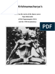 Krishnamacharya's Ashtanga Practice New Version
