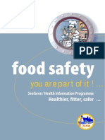 a5 Food Safety Booklets Food Safety Youre Part of It 12pp