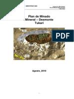 Plan de Minado Tucari MeM 2010