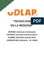 Tecnologia en La Medicina- Ensayo