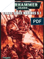 Chaos Space Marine Codex 5