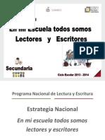 Estrategia Nacional 2013