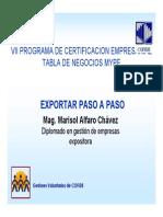 Exportacion Paso a Paso Marisol Alfaro