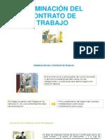 TERMINACIÓN DEL CONTRATO DE TRABAJO ul