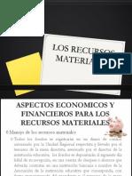 Los Recursos Materiales