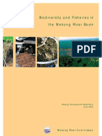 Biodiversity and Fisheries in Mekong River