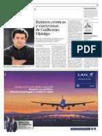 Crónicas y entrevistas de Guillermo Hidalgo
