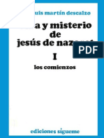 71534448 Vida y Misterio de Jesus de Nazaret I Jose Luis Martin Descalzo
