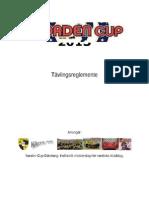 Tävlingsreglemente 2013