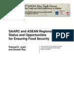 SAARC and ASEAN Regional Trade