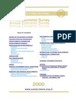 Annual Economic Survey 2000