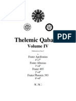 Thelemic Qabalah Volume 4