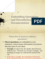 embedding and parenthetical abbreviated version