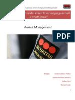 Integrarea factorului uman în strategia generală a organizației