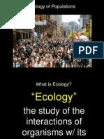 Notes Human Impact on Environment