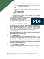 Especificaciones Tecnicas_s. Fco Tin Tin