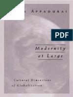Arjun Appadurai - Modernity at Large - Cultural Dimensions of Globalization