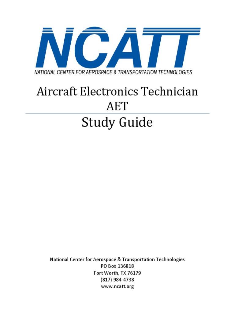 Aircraft Electronics Technician Aet Study Guide border=